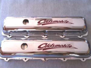 260 330 350 400 425 455 Oldsmobile Valve Covers rocket cutlass 442 hurst olds