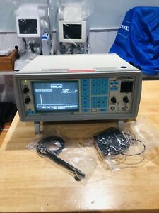 Sonomed A b scan 5500 Ophthalmic Ultrasound Machine W o Probe And Foot Pedal