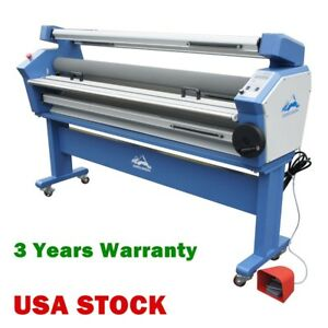 Usa 55 Full auto Wide Format Cold Laminator Heat Assisted Lamination