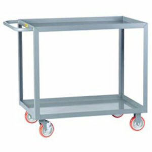 Little Giant All Welded Service Cart 2 Lip Shelves 36 l X 24 w X 35 h Lot Of