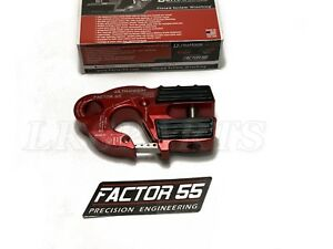 Factor 55 Red Ultrahook Winch Hook For Up To 3 8 Winch Cable Or Synthetic Rope