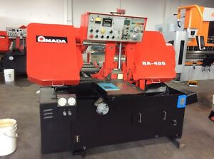 Amada Ha 400 Automatic Band Saw