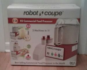 Robot Coupe R2n Clr Commercial Food Processor Contains Vegetable Prep Attachment