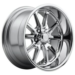One 18x9 5 Us Mag Rambler U110 5x4 75 Et1 Chrome Wheel
