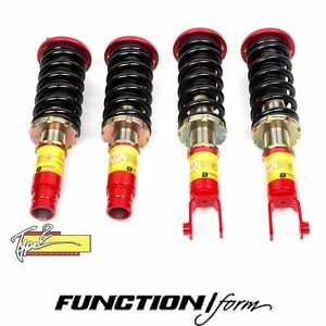Function Form Type 2 Coilovers Fits Civic Ek F2 ekt2