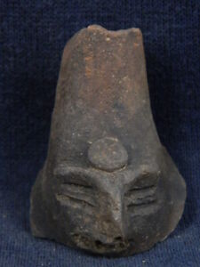 Ancient Teracotta Head Indus Valley 600 Bc Tr695