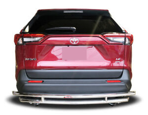 Broadfeet Rear Double Layer Bumper Guard Protector For Toyota Rav4 2019 2021