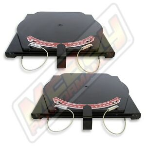 Alignment Rack Turn Plate Table Set Passenger Car Light Truck W Pointers Hunter