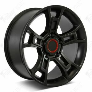 20 2019 Pro Style Black Wheels Fits Trd Toyota Tundra Sequoia Land Cruiser