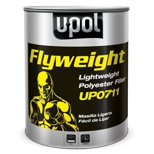 U Pol 711 Flyweight Smooth Lightweight Auto Body Filler 3 Liter