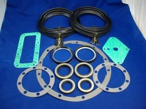 M35a2 2 5 Ton Complete Front Axle Seal Gold Zipper Boot Gasket Kit Rockwell