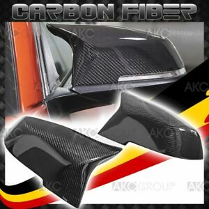 Carbon Fiber Side Mirror Covers M Performance Replacement For Bmw 3 4 Series