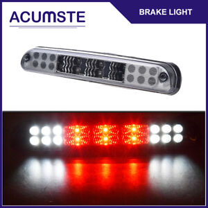 For 99 15 F250 F350 F550 Smoke Housing Rear 3rd Brake Cargo Stop Led Tail Light