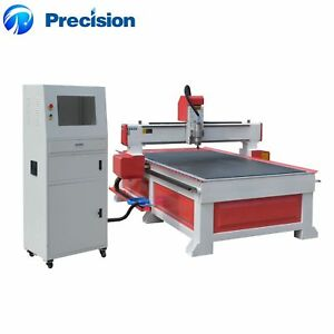 Wood Cut Engrave Cnc 1300 2500 200mm Router With Mach 3 Controller T slot Table