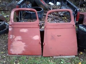 36 37 38 Chevy Pu Truck Doors 1 2 Ton Hot Rat Rod Gmc