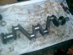 Farmall Ihc Tractor A B C Super Crankshaft