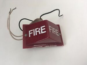 vintage rare Simplex 2904 9152 Fire Alarm Remote Light Red 120 Vac