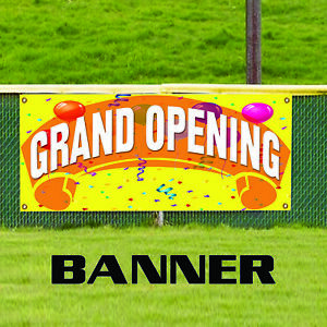 Grand Opening Promotion Retail Banner Sign New Outdoor Vinyl Banner Sign