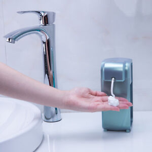 Stylish Automatic Sensor Touchless Soap Dispenser Counter Wall Mount Green