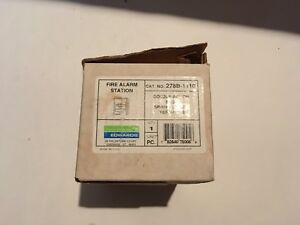 nib new Est Edwards 278b 1110 Fire Alarm Pull Station