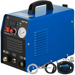 Cut 50 50 Amp Plasma Cutter 110v 230v Dual Voltage Digital Cutting Machine