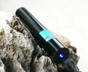 Waterproof Focusable 450nm Pure Blue Ray Laser Torch Pointer Led Flashlight