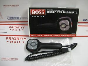 Boss Hand Held Straight Snow Plow Control New In Box Stb09602 Smart Touch 2