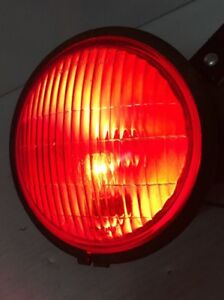 Vintage S M 57rr Stop Light 5632 Red Lamp With Bracket Original 6v Or 12v