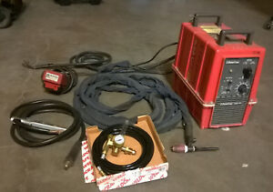 Powcon 300st Tig Stick Portable Welding Power Supply 3t216064 Tig Torch Pedal