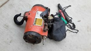 Gardner Denver Cooper 1000lb 500kg Air Pneumatic Chain Hoist
