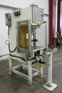 Denison Multi press C frame Hydraulic Press Used Am17637