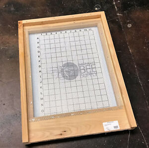 Screened Ipm Bottom Board 10 Frame Hive Langstroth Beehive Free Shipping