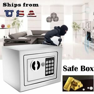 Electronic Safe Box Gun Money Passport Home Hotel Office Security Digital Us Be
