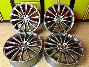 20 8 5 20 9 5 Amg S550 S450 S400 S55 20 Inch Mercedes S63 Rims Wheels Set4 New