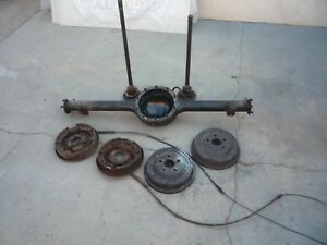 9 Inch Ford Rearend Axle Housing 1957 Ford 1967 Mustang 57 7 8 Narrow