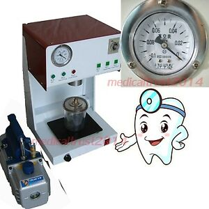 2019 Dental Mixing Vibrating Outer Pump Vacuum Mixer Machine 500ml Beaker
