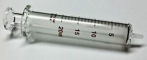 Air tite Reusable Glass Syringe Glass Luer 20 Ml Clear 7 102 41 1 Each