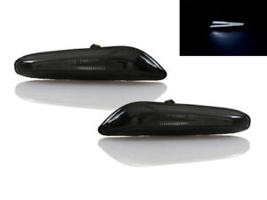 Smoke White Led Light Bar Side Markers For Bmw 06 11 3 Series 08 12 1 Series