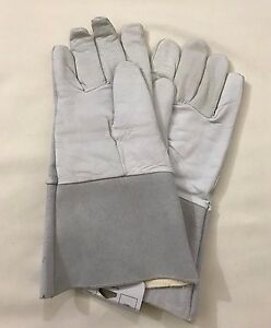New Stick Welding Gloves Xl Pearl Elkskin 14 Length 6 Pair Safety Exprets