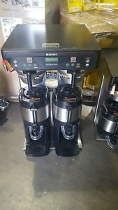 Bunn o matic Icb Twin Tall Brewer Commercial Coffee Maker With Servers