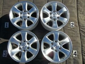 Toyota 4runner Sport Edition 17 Wheels Stock Factory Rims Tundra Sequoia Gx470