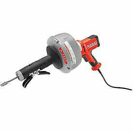 Ridgid 174 K 45 Manual Drain Cleaner W bulb Auger 25 l X 5 16 w Cable Lot Of