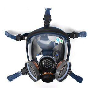 Sc St s100 3 Gas Mask Full Facepiece Reusable Chemical Respirator High Quality