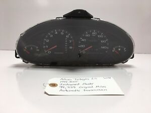 Acura Integra Ls Instrument Cluster 1994 2001 A t Low Mileage