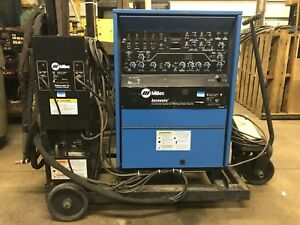 Miller Aerowave Hybrid Cc ac dc Tig stick Power Source 1 375 Amp Will Ship