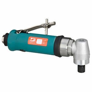 Dynabrade 0.7HP Right Angle Die Grinder 18000 RPM Geared Rear Exhaust 14