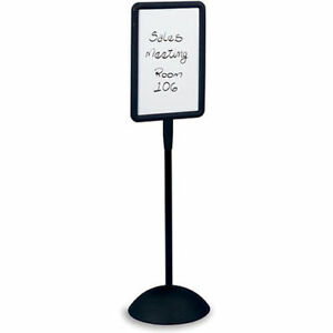 Safco Write Way Message Board 18x18x65 Rectangular Style Lot Of 1