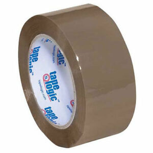 400 Industrial Tape 2 x110 Yds 2 Mil Tan 6 pack Lot Of 1