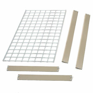 Bulk Rack Additional Level With Wire Deck 48 w X 24 d Tan Lot Of 1