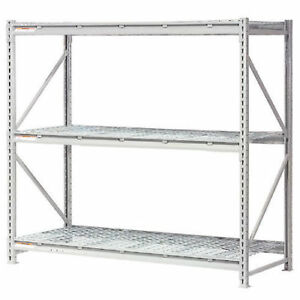 Extra High Capacity Bulk Rack With Wire Decking Starter Unit 60 w X 48 d X